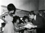 Theo Ordeman & The Supremes, Amsterdam, Netherlands, October1964