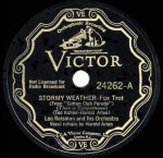 1933 Stormy Weather-Leo Reisman and his Orchestra (v. Harold Arlen)-Victor 24262 (cpy 1a)