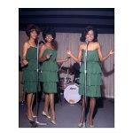 Supremes, London, October 1964-green dresses(1a)