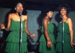 Supremes, London, October 1964-green dresses(3)