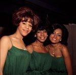 Supremes, London, October 1964-green dresses(4)