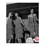 Supremes, London, October 1964-green dresses(6)