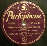1944 Spring Will Be a Little Late This Year-Geraldo-(UK) Parlophone F2047