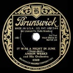 1933 It Was a Night in June-Anson Weeks and his Orch-Brunswick 6569 (crop 1)